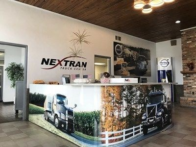 acr061 - Custom Acrylic Display for Nextran Truck Centers of Tampa